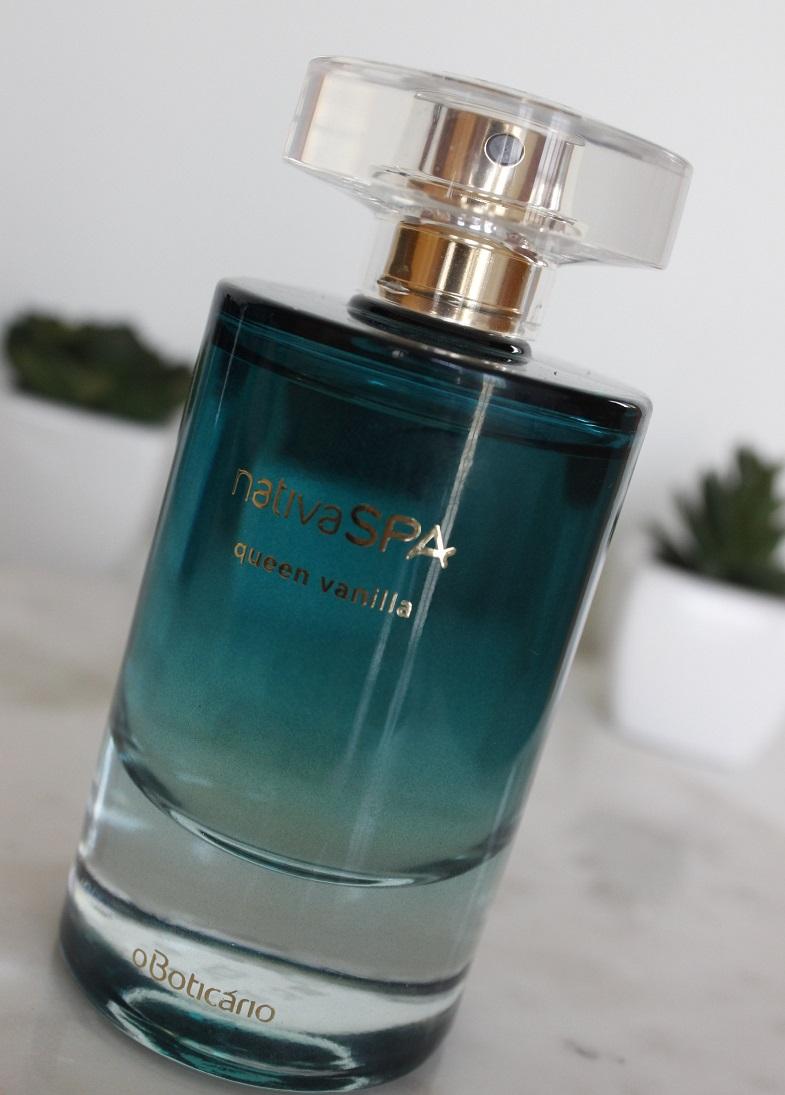 Queen Vanilla Nativa Spa resenha de perfume Boticário