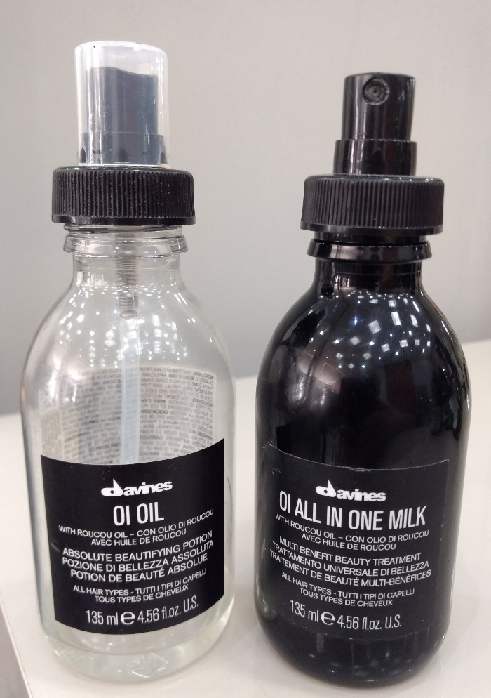 Davines OI Oil e OI All In One - resenha