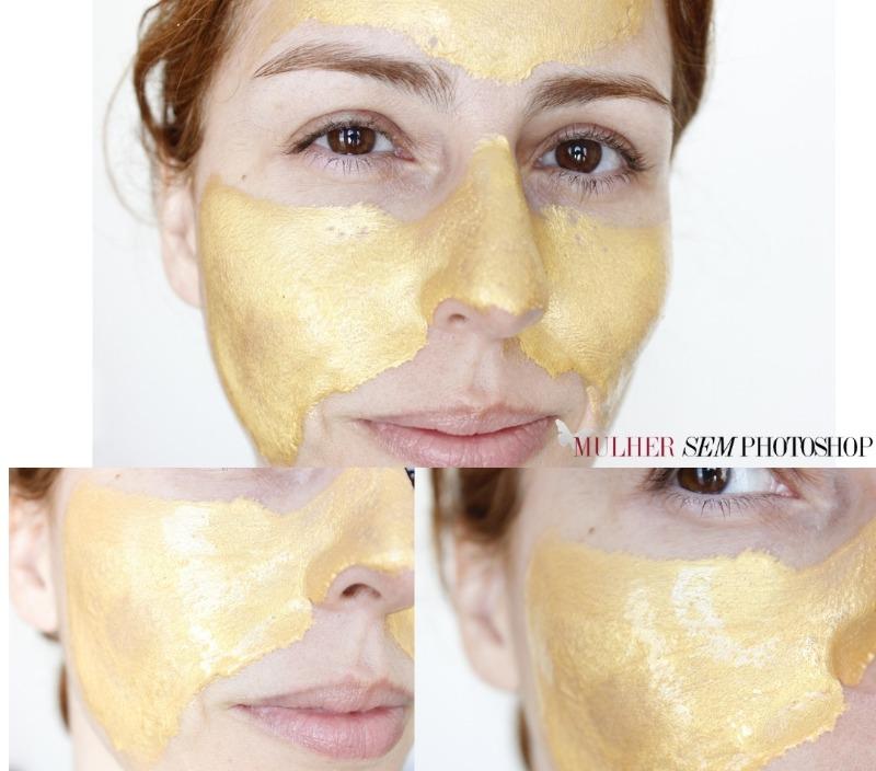 Máscara de Ouro resenha - GoldPlat Cosméticos