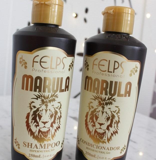 Marula Shampoo e Condicionador Felps – resenha