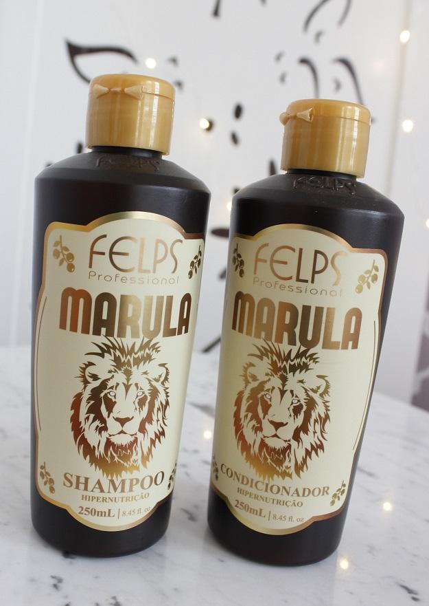Felps Marula resenha shampoo e condicionador