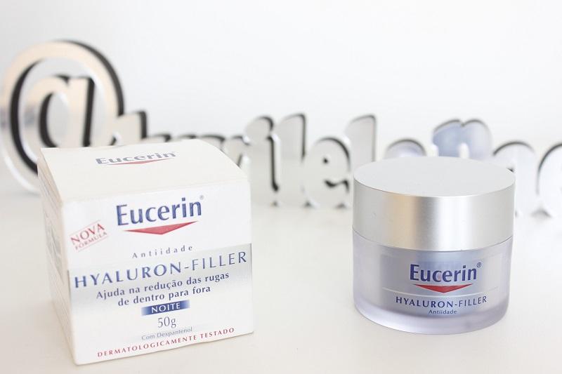 Hyaluron Filler Noite - resenha creme hidratante com ácido hialurônico Eucerin