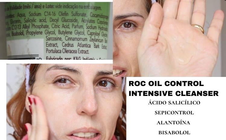 Roc Oil Control Intensive Cleanser sabonete facial para pele oleosa resenha