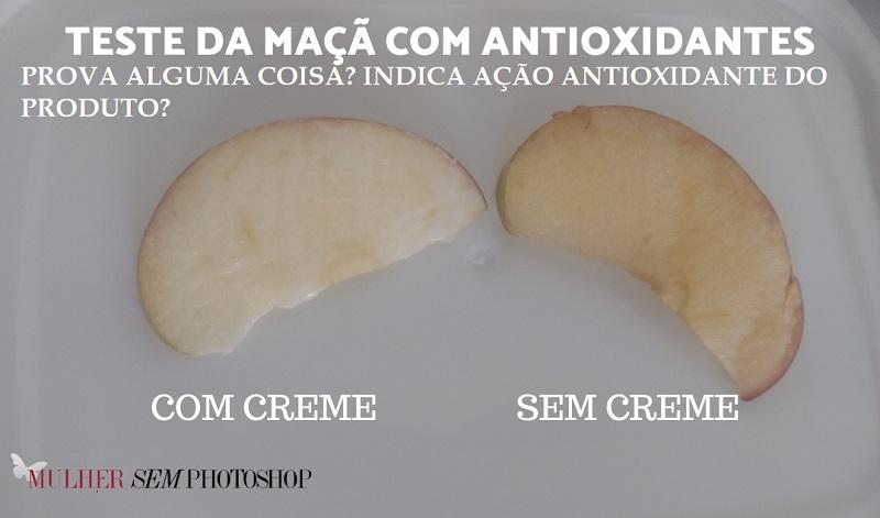 Teste da Maçã – passar vit C na maçã mostra eficácia do antioxidante?