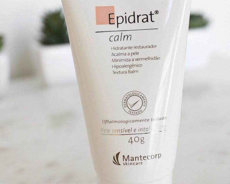 Resenha: Epidrat Calm, hidratante para pele sensível