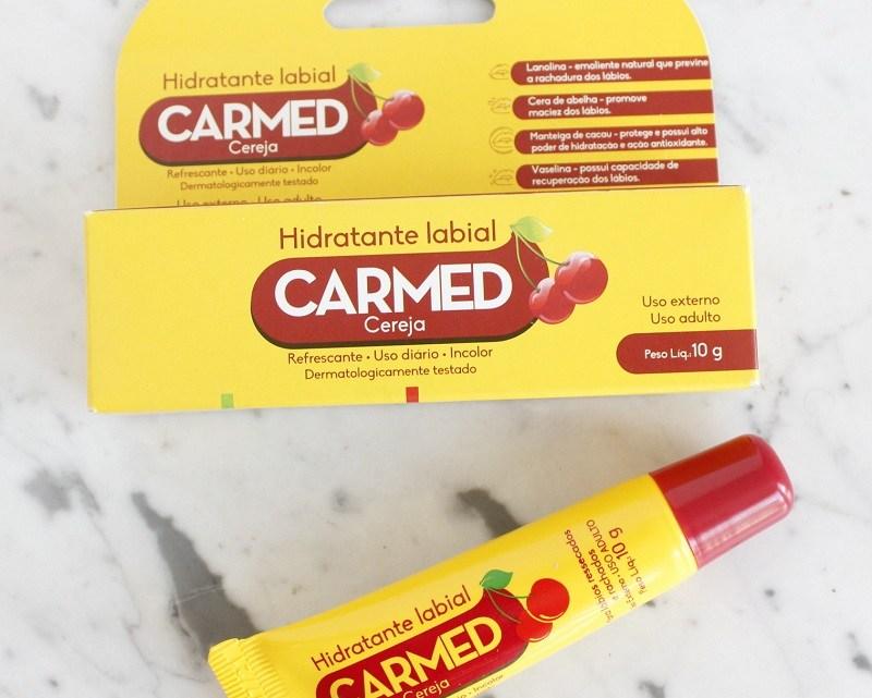 Hidratante Labial CARMED – barato e funciona! resenha