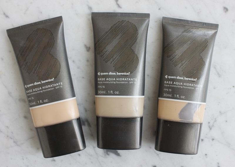 Base Aqua quem disse, berenice? resenha – ótima para pele madura