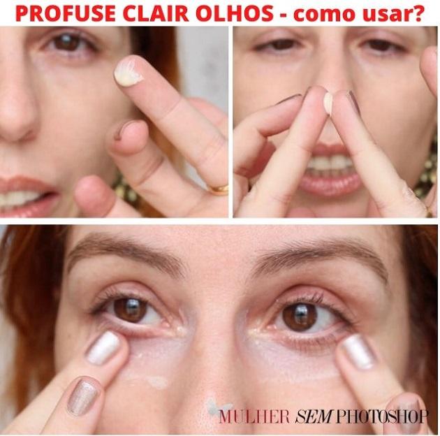 Clair Olhos Como usar