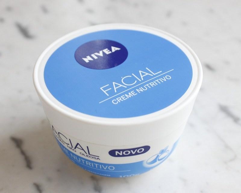 Creme Facial Nivea Nutritivo resenha: pra que serve?