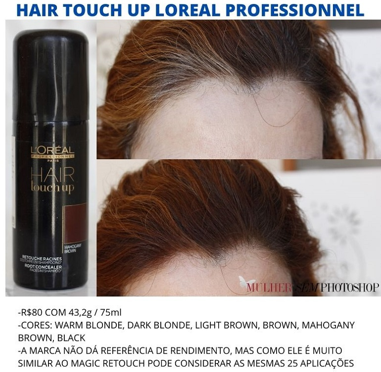 loreal hair touch up cores
