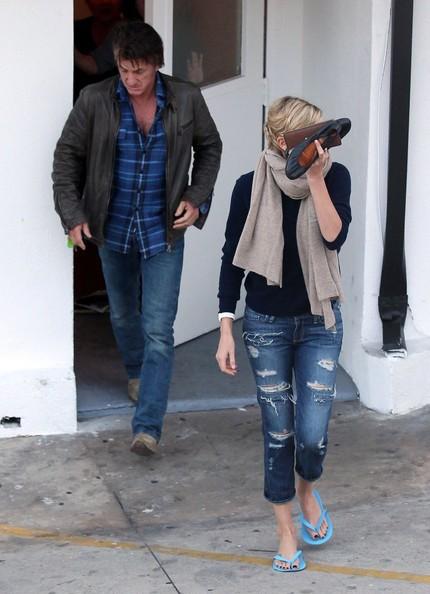 La Coppia Mal Assortita Di Sean Penn E Charlize Theron