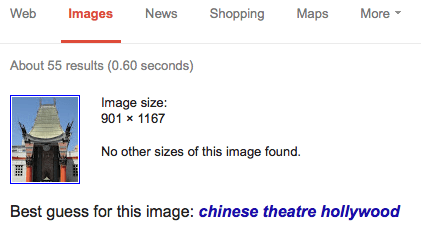 Google search by image tutorial