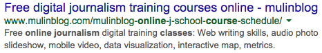 online journalism courses   Google Search