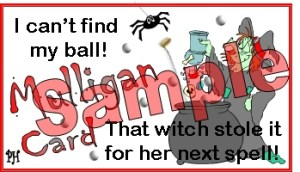 Halloween witch mulligan