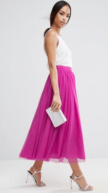 Tulle Multi Layer Skirt