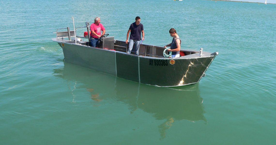 lasse en aluminium bateau en aluminium construction navale