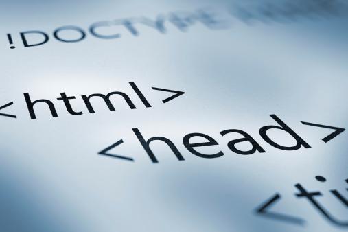 webpage tags