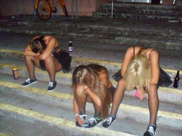 Meninas de ressaca