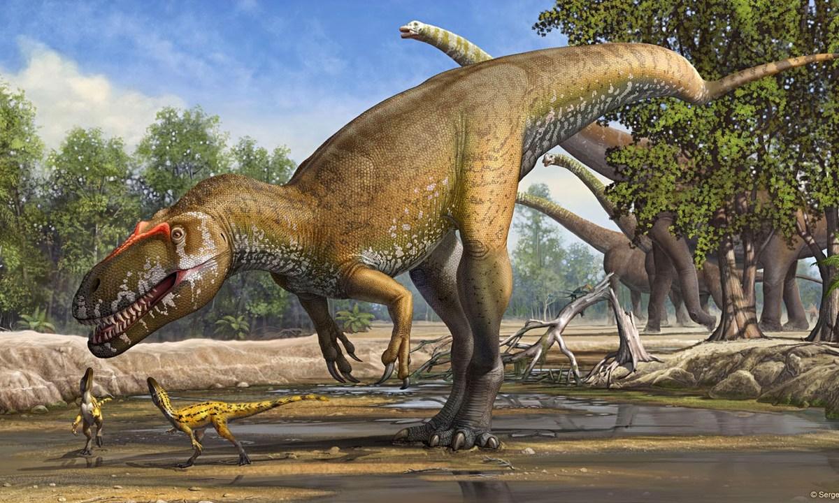 Nomes e Tipos de Dinossauros