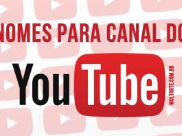 Nomes para Canal do Youtube