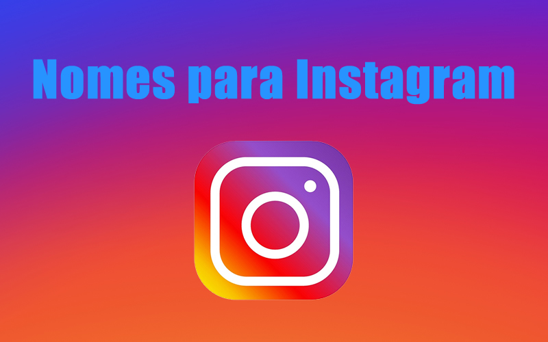Nomes para Instagram