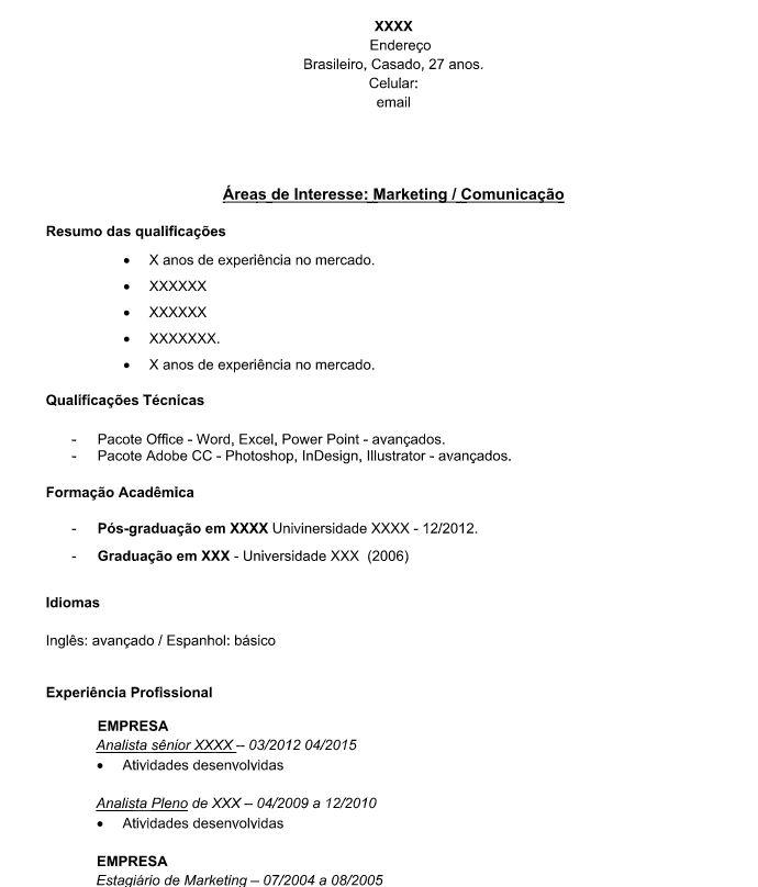 Analista CV