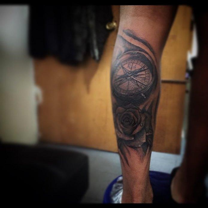 Tatuagem Feminina Frases Na Batata Da Perna Mmod