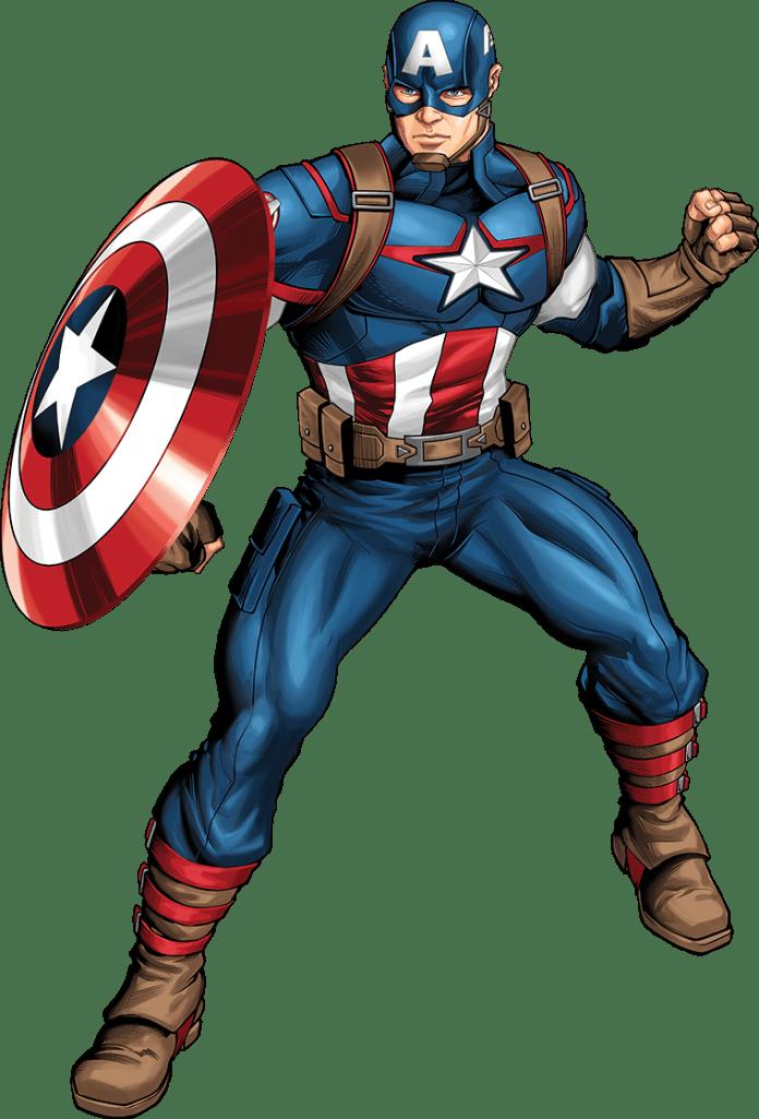 Capitão América sem fundo PNG