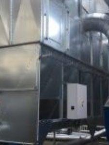 Det nye filteranlæg hos Sindal Trappen