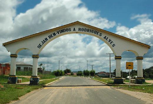 Rodrigues Alves município localizado no oeste do Acre.