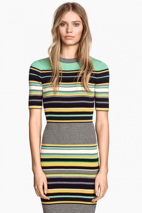 graphic pullover dress