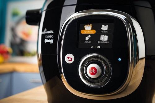 Ecran digital Moulinex CE703800 multicuiseur intelligent Connecté Cookeo