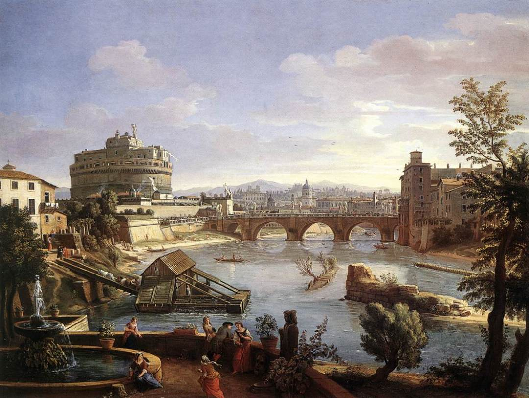 The_Castel_Sant'Angelo_from_the_South