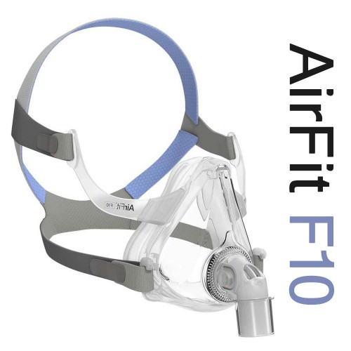 resmed airfit f10 full face cpap mask with headgear multidoctorshop com