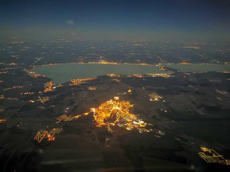 NVFR over Balaton Lake