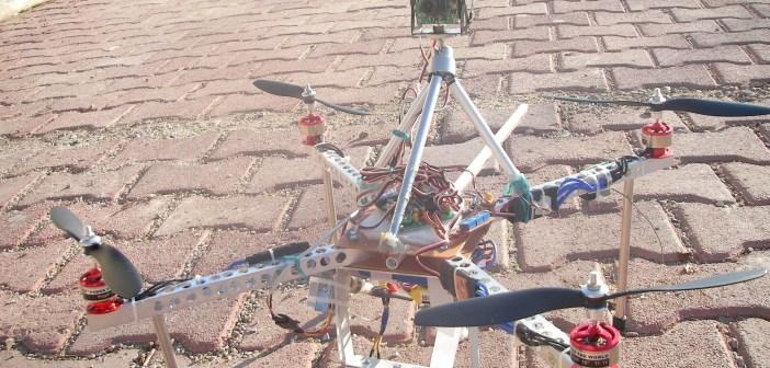 Quadkopter FPV