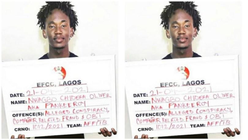 "EFCC arrests popular Nigerian comedian ""Pankeeroy"" over case of fraud"