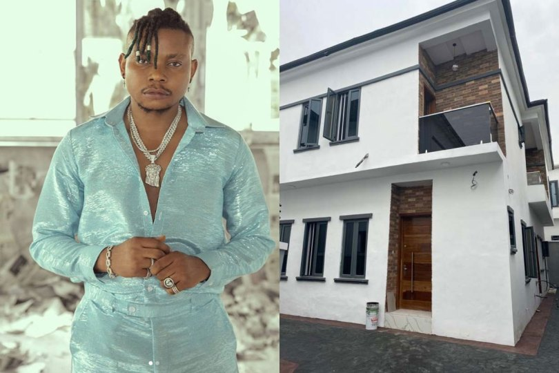 [PHOTOS] Singer, Olakira Buys First House, New Car, And Retires His Mother