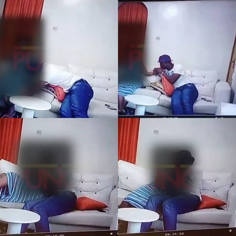 CCTV Video of Yoruba Nollywood Actor Baba Ijesha Molesting 14 Year Old Girl