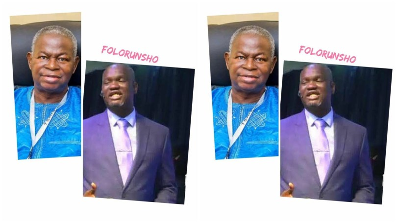 Pastor Emmanuel Folorunso Abina Died of brief illness
