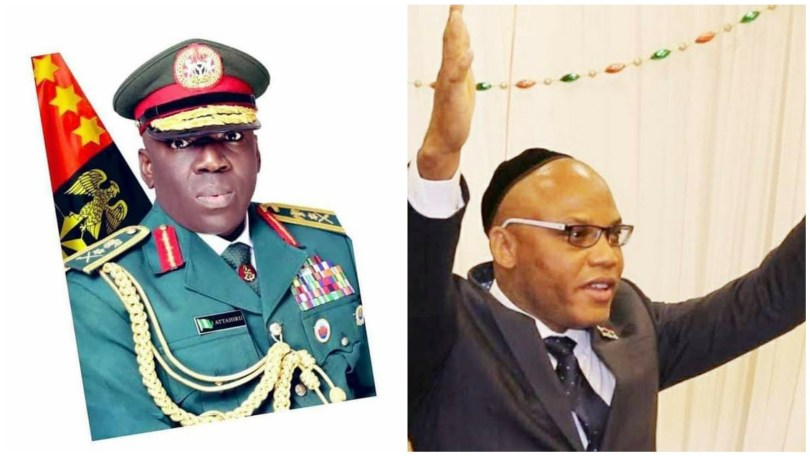 Nnamdi Kanu reacts to Ibrahim Attahiru's death