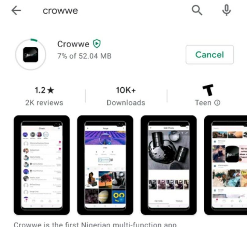 See What Google Did to Garba's Crowee App