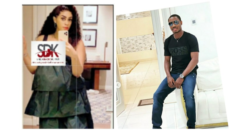 Jude Ighalo Odion baby mama in Dubai welcomes 5th child