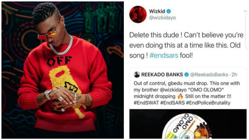 Wizkid Is Being Pushed To The Wall