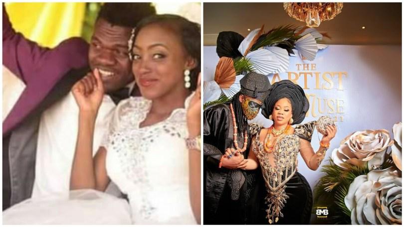 Segun Wealth Adebayo and wife, Edel Idoga's wedding photos resurface