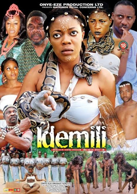 The movie, 'Idemili', gave me 'life' Etiko says