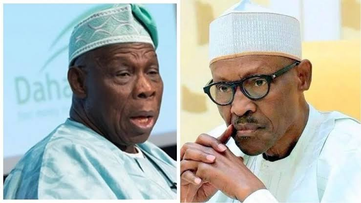 Obasanjo Blows Out On News Pertaining To President Buhari's Death