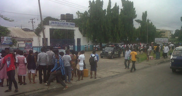 Government Neglect  Protesters In Rivers State College of Health