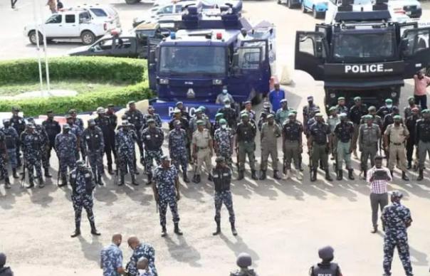 Highlighting: Oodua Republic Rally In Lagos, Before The Showdown