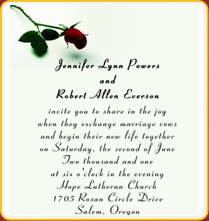 Wedding Invitation Sms Wordings Marriage
